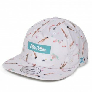 Boné Other Culture Strapback Beach Girls Bege