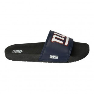 8372bb16b6d7f Chinelo Slide New York Giants NFL Marinho   Preto