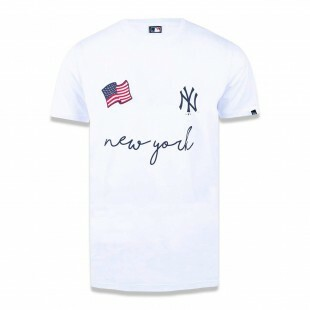 Camiseta New Era New York Yankees Branca MLB