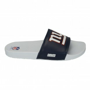 145352b119de7 Chinelo Slide New York Giants NFL Marinho   Branco