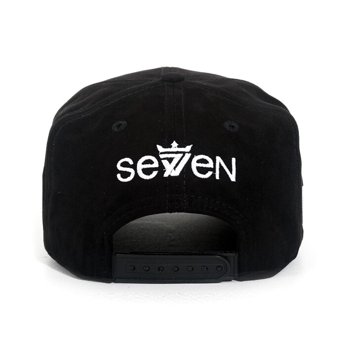 Boné Seven Brand Snapback Money Mouth Preto