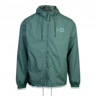 Jaqueta New Era Branded Windbreak Verde