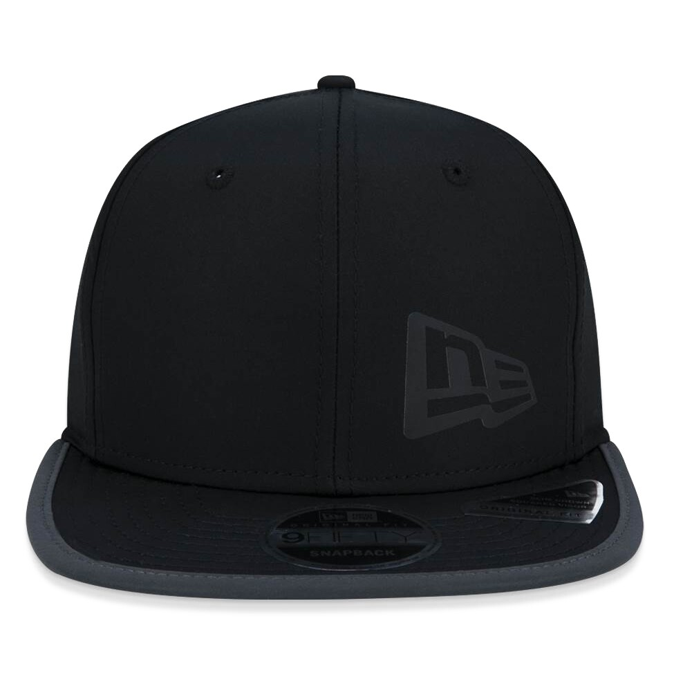 Boné New Era Snapback Refletivo Original Fit Preto