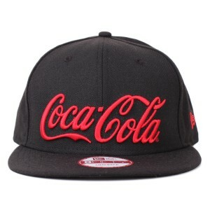 Boné New Era 9FIFTY Snapback Coca Cola Script Black/Red