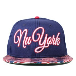 Boné Cayler And Sons Snapback Nu York Cap Navy/Printed