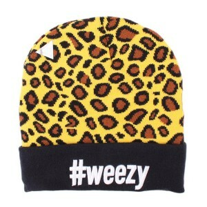 Gorro Cayler and Sons Weezy Onça Yellow/Black