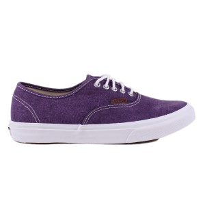 Tênis Vans Authentic Slim (Washed) GrapeRoyale/TrWht