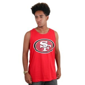 Camiseta New Era Regata San Francisco 49ers Red