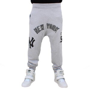 Calça Moletom New Era MLB New York Yankees Grey