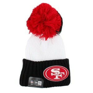 Gorro New Era San Francisco 49ers White/Black/Black