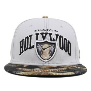 Boné Cayler And Sons Hollywood Grey/Printed