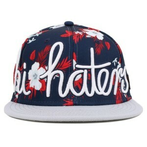 Boné Cayler And Sons Hi Haters Navy Printed/Grey