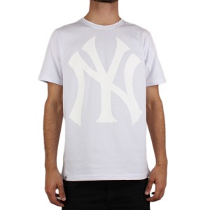 Camiseta New Era New York Yankees White/White