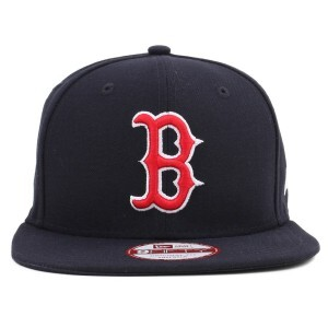 Boné New Era 9FIFTY Original Fit Snapback Boston Red Sox Tradicional Navy