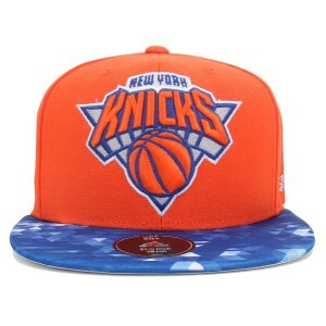 Boné Adidas Snapback New York Knicks Orange/Blue