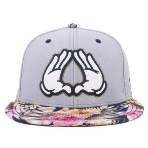 Boné Cayler And Sons Snapback Bonjour Brooklyn Grey/Printed