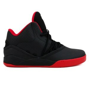 Tenis Supra Estaban Blk-Black-Red