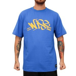 Camiseta Wise Tag Royal
