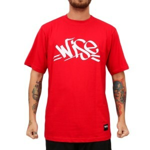 Camiseta Wise Tag Red