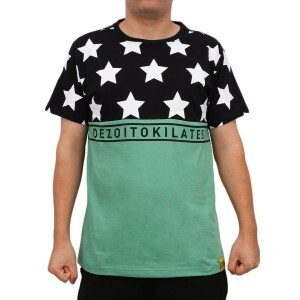 Camiseta 18 Kilates Star Black/Green