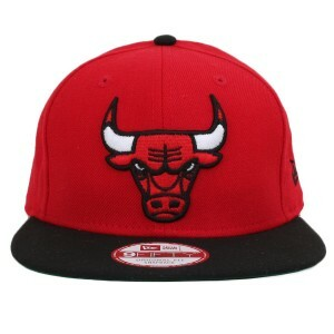 Boné New Era 9FIFTY Original Fit Snapback Chicago Bulls Tradicional Red/Black