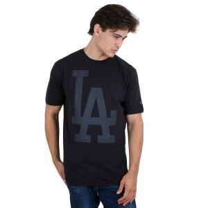 Camiseta New Era Los Angeles Dodgers Black/Black