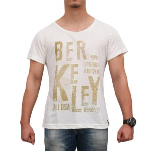 Camiseta Berkeley Cali USA Beige