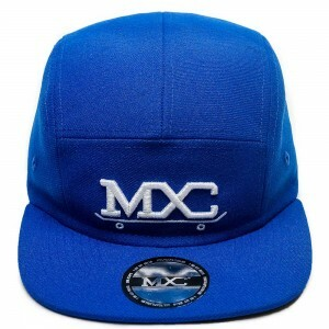 Boné Multcaps MXC Five Panel Snapback Royal