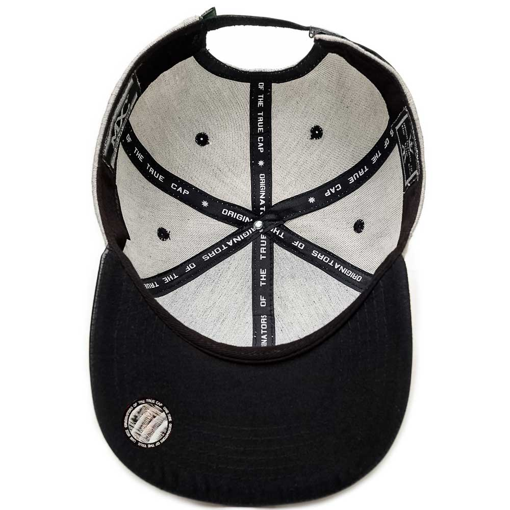 Boné Multcaps MXC Strapback Lets Me Walk Grey/Black