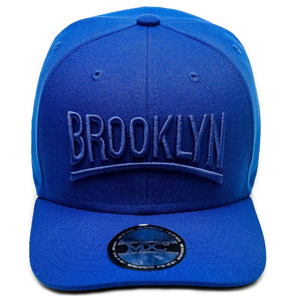 Boné Multcaps MXC Snapback Brooklyn Original Azul Royal 1c69c86a945