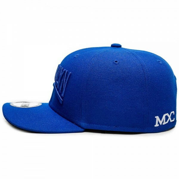 Boné Multcaps MXC Snapback Brooklyn Original Azul Royal
