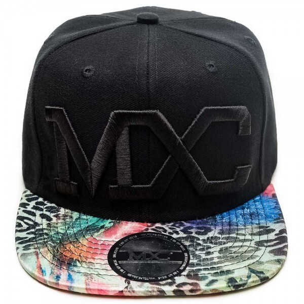 Boné Multcaps MXC Snapback Animal Print Preto Original