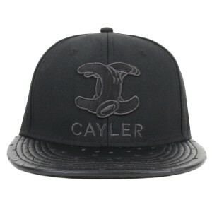 Boné Cayler And Sons Snapback WL Still No Preto