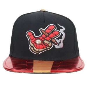 Boné Cayler And Sons Snapback GL Ironic Preto/Red