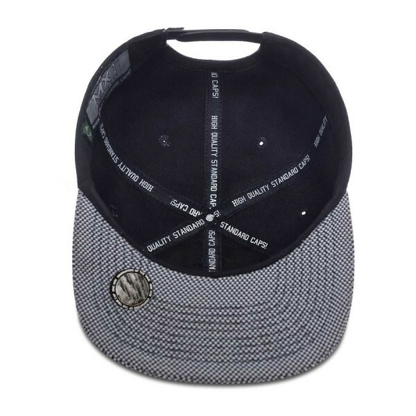 Boné Multcaps MXC Snapback The Official Preto