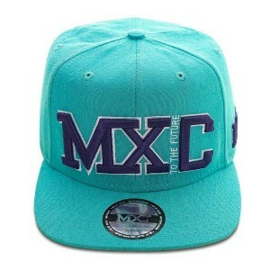 Boné Multcaps MXC Snapback To The Future Verde Água