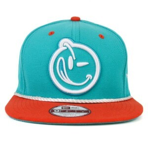 Boné New Era 9Fifty Original Fit Snapback Yums Logo Verde/Laranja
