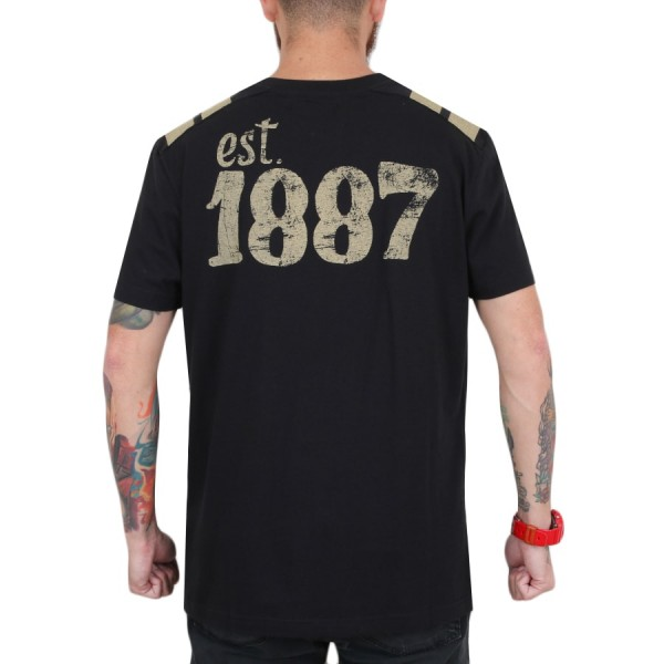 Camiseta New Era Pittsburgh Pirates Bandeir Preto