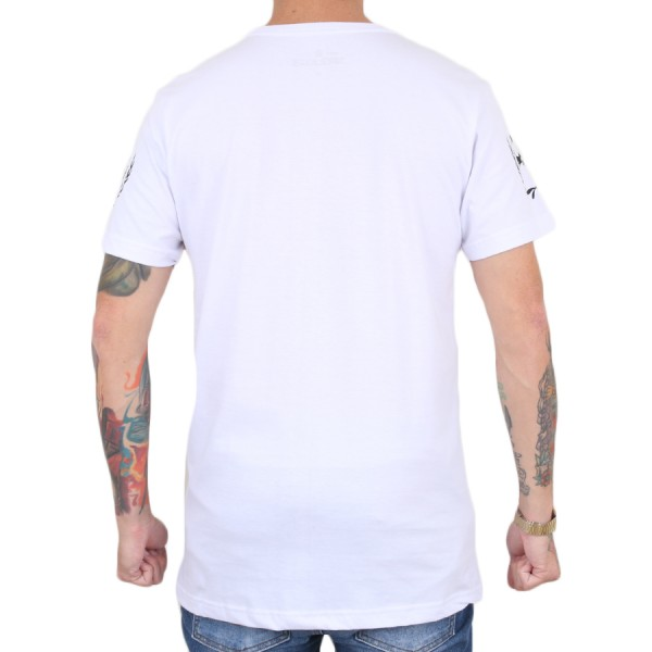 Camiseta 18 Kilates Money Branco