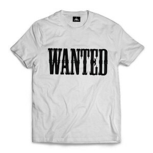 Camiseta Skill Head Wanted Branco