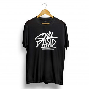 Camiseta Skill Head Grafite Preto