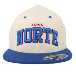 Boné True Heart Snapback Zona Norte Creme/Azul Royal