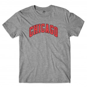 Camiseta BSC Chicago Cinza