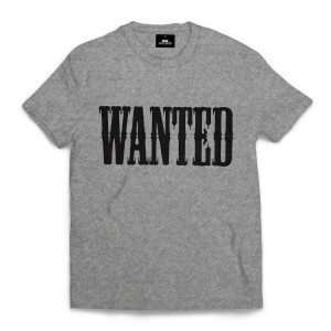 Camiseta Rege Wanted Cinza
