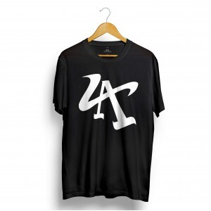 Camiseta Rege Los Angeles Preto
