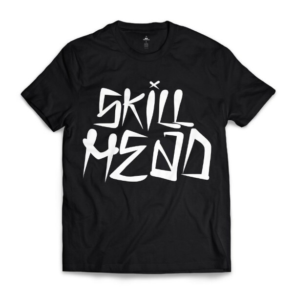 Camiseta Skill Head Fonte Killing Preto