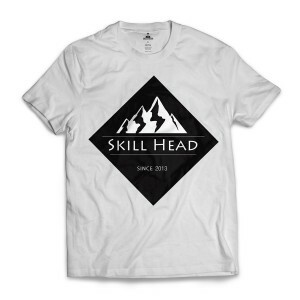 Camiseta Skill Head Since 2013 Branco