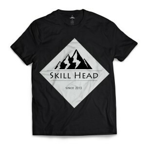 Camiseta Skill Head Since 2013 Preto