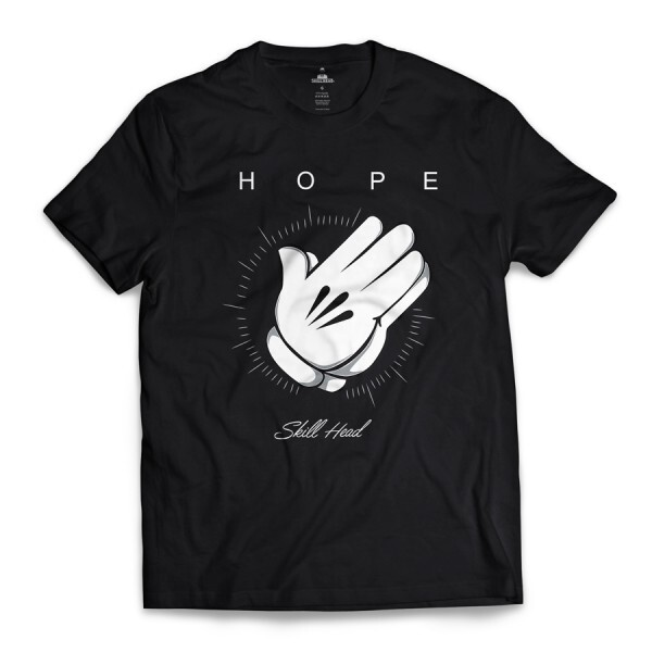 Camiseta Skill Head Hope Preto