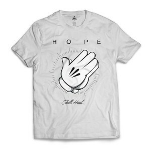 Camiseta Skill Head Hope Branco